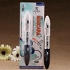 Make-up Mascara Waterproof Magic Mascara Black and White Double Head Brush