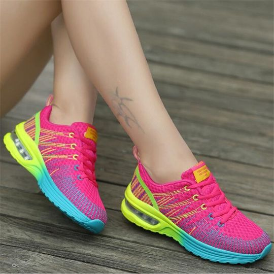 Walking Shoes Sneakers Slip on Outdoor PU leather Summer Flats Breathable Women