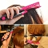 Delicate Beauty V Type Hair Straightener Comb DIY Hairdressing Styling Tool