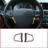 Best Choice 2 pcs Carbon Fiber ABS Steering Wheel Button Frame Trim For BMW 5 Series f10 520 525 2011-2017 Accessory
