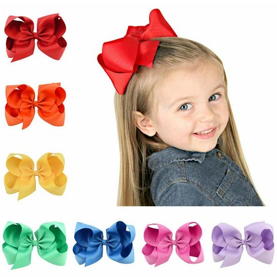 20PCS Hair Clip Bow Accessories Hairpin Alligator Clips Baby Girl Kids Barrettes