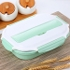 Best Choice Food Box Stainless Steel Bento Lunch Box Set green