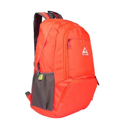 906587c1abb5 #Drop Shipping# Playking Nylon Foldable Backpack Waterproof Ultralight  Backpack Folding Lightweight Outdoor Travel Sport Hiking Bag 30L Orange  купить ...