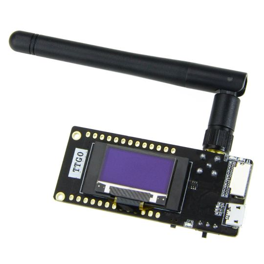 Sunnywork Ttgo Esp32 - Paxcounter Lora32 V2 1_1 6 Версия Lora Esp-32 Oled  0,96-дюймовый Sd-карта Bluetooth Wi-Fi модуль Sma