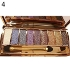 9 цветов Shimmer Eyeshadow Eye Shadow Palette & Makeup Cosmetic Brush Set