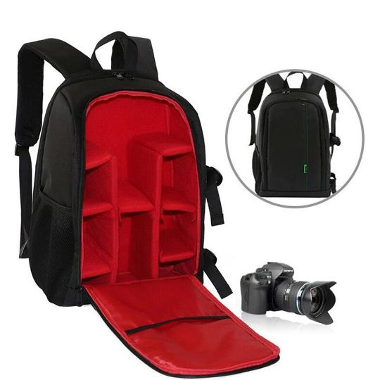 Universal SLR Portable Camera Case Soft Padded Protective Cover Pouches