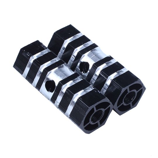 1 pair Mountain Bike Bicycle Axle Pedal Alloy Stunt Pegs Front Rear Axle Pick