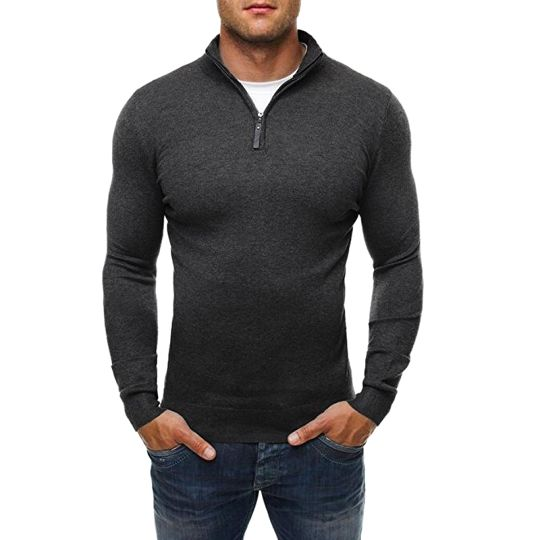 Hot Sale Mens Sweaters Knitting Comfort Winter Warm Thicken Turtleneck Tees Tops