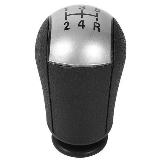 Shift Knob Car 5 Speed Shift Knob for Ford Focus Mondeo MK3 Mustang S-MAX Galaxy Color : Gray