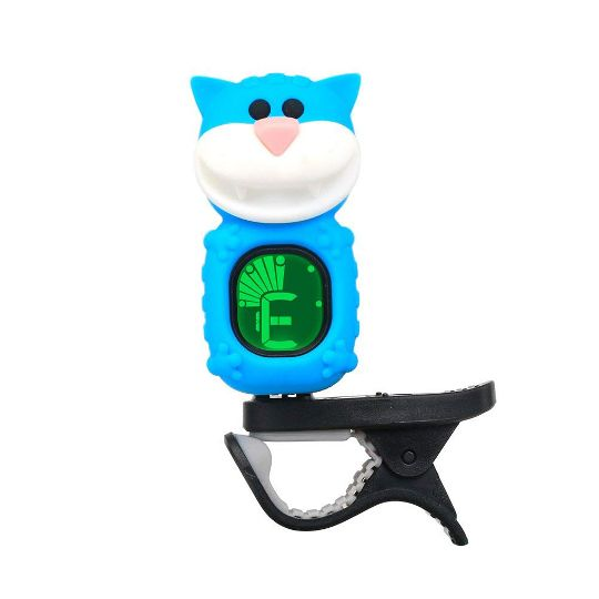 Drop Shipping Guitar Tuner Clip On Cartoon Cat With Lcd Display For
