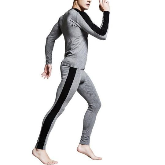 78dd5c3a9742 SALE thermal underwear mens long johns men Autumn winter shirt+pants 2  piece set warm