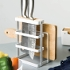 #Drop Shipping# Europe Style Metal Storage Racks Cutting Boards/Holders Creative Draining Rack Multi-Use Storage Holder