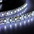 SODIAL(R)5M 600 SMD 3528 White Waterproof LED Strip Marquee Strip Light Cool IP65