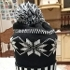 Gift for you 1 Pc Women Men Fashion Knitted Crochet Winter Ski Warm Hat Cap Snowflake Beanie