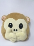 Подушки высокого качества No Speaking No Looking No Listening Monkey Pillows Mokey Cushions Плюшевые игрушки Emoji Monkey Pillows