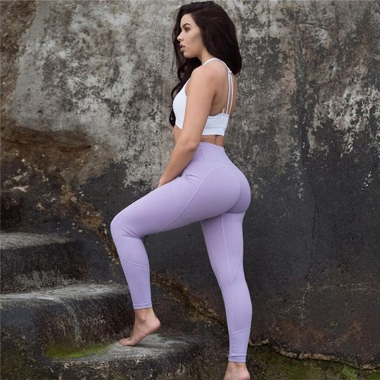 c01ae36f9bb91 Leggings Pants Womens Clothing Of Large Sizes High Waist Tights Woman  Sports Fitness Sports Wear For