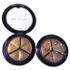 Cyber Monday Professional Smoky Cosmetic Set 3 цвета Natural Matte Eyeshadow Инструменты для макияжа Палитра Nude Eye Shadow Glitter # 6light brown + coffee + brown