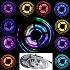 5m waterproof LED 6803IC Gaza strip running light bar 133 Multicolor modes