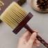#GARD Sale# 1Pcs Pro Wooden Handle Hair Cutting Hairdressing Stylist Salon Care Neck Duster Clean Broken Hair Brush Barbers Tools