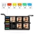 #Free Shipping# RV Yacht Retrofit 6-Way Safety box relay 12V automobile fuse seat with 6 relays Transparent