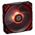 Controller Cooler Pl - 12025 120 Mm Led Fans 4 Pin Pwm Control (red)