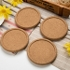 #Free Shipping# 12Pcs/Lot Plain Round Cork Coasters Set Coffee Cup Mat Drink Tea Pad Placemats Wine Table Mats Decor Officekitchen Accessories