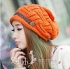 Elegant Fashion Lady Female Winter Knitted Cap Tuque Skullies Bonnet Winter Hats For Women Knitted Hats Beanie Women Gorros