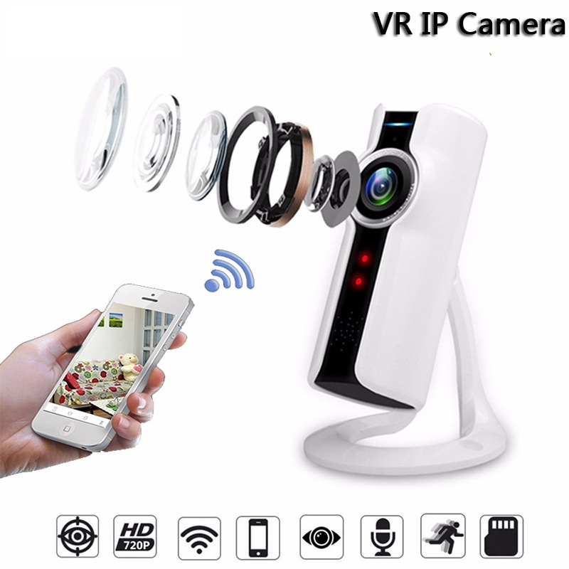 Мини-Wifi VR <b>IP</b>-<b>камера Wireless 720P</b> Smart 180 Панорамная ...