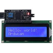 5V IIC I2C Serial 1602 16x2 LCD Module Display Blue Backlight for Arduino
